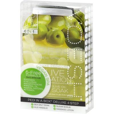 Soin pédicure en 4 étapes Voesh - olive
