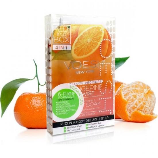 Soin pédicure en 4 étapes Voesh - Tangerine